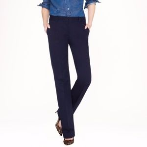J. Crew Cafe Trouser in Navy
